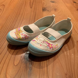 サンリオ(サンリオ)の⭐️値下げ⭐️シナモンロール上靴 サイズ18センチ(スクールシューズ/上履き)