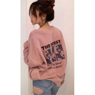 GYDA - ジェイダ     THE BOSSY プルオーバー パーカー大人気ピンク