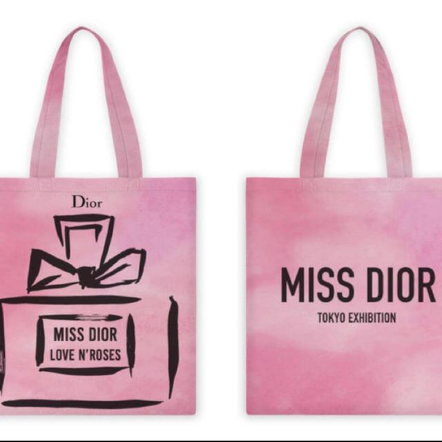 Dior(ディオール)のDIOR 展覧会来場者先着限定トートバッグ レディースのバッグ(トートバッグ)の商品写真