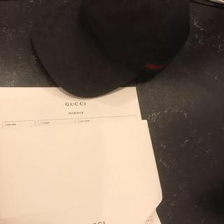 グッチ(Gucci)のGUCCI 帽子 正規店公式サイト購入(キャップ)