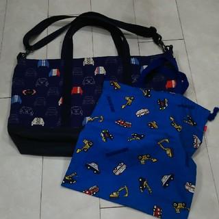 ミキハウス(mikihouse)の男の子用のトートバッグ&巾着バッグ(トートバッグ)