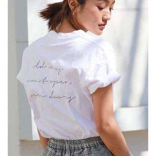 Ungrid - ロゴTシャツ