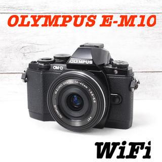 オリンパス(OLYMPUS)の❤️スマホに送れる❤️電動ズーム❤️オリンパス E-M10(ミラーレス一眼)
