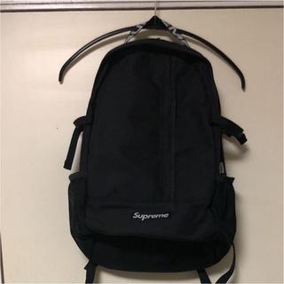 新品タグ付 supreme Backpack black 18ss 黒