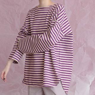 ケービーエフ(KBF)のBIGBIGボーダーTシャツ(Tシャツ(長袖/七分))