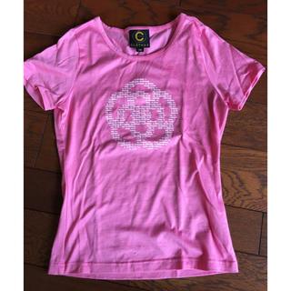 クレイサス(CLATHAS)のクレイサス★Tシャツ美品38ピンク(Tシャツ(半袖/袖なし))