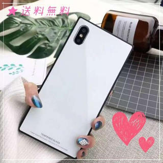 ◆スクエア ◆ アイフォンケース Iphone ホワイト