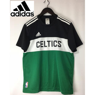 アディダス(adidas)の美品 adidas アディダス NBA セルティックス 半袖Tシャツ XL(Tシャツ/カットソー(半袖/袖なし))