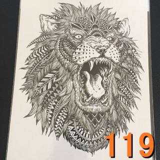 119タトゥーシール