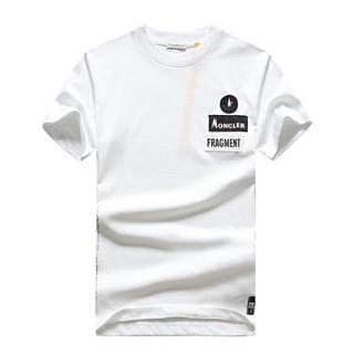 モンクレール(MONCLER)のTシャツ プリント カッコイイ MONCLER モンクレール(Tシャツ/カットソー(半袖/袖なし))