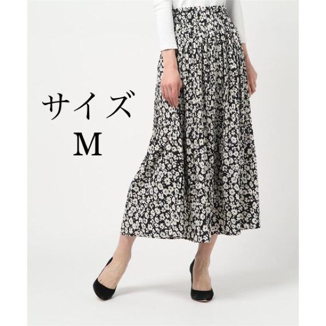 しまむら(シマムラ)の【今期新作 大人気完売商品】しまむら  花柄プリーツスカート レディースのスカート(ロングスカート)の商品写真