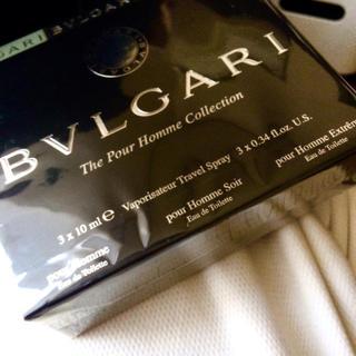 ブルガリ(BVLGARI)の【正規新品】*:.。. 『BVLGARI 3種set』.。.:*【送料無料】(香水(男性用))