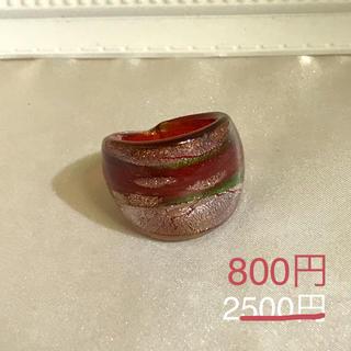 ベネチアンガラス風リング[br1](リング(指輪))