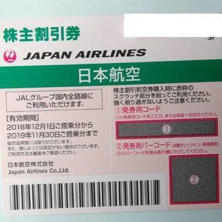 ジャル(ニホンコウクウ)(JAL(日本航空))のJAL 株主割引券 (航空券)