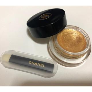シャネル(CHANEL)のオンブル プルミエール グロス ソレール アイグロス シャネル ゴールド  箱付(アイシャドウ)