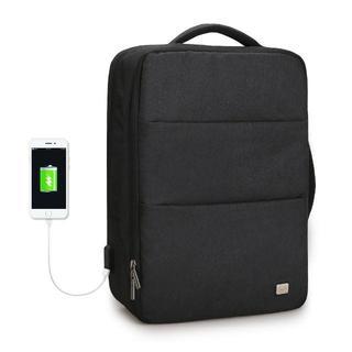 ラップトップバック PCバッグ USB ポート搭載ビジネスリュック