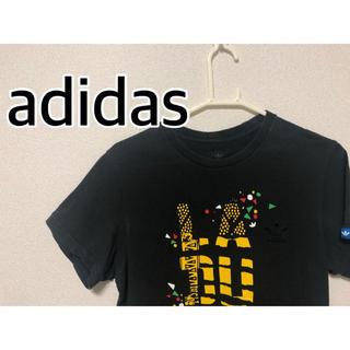 アディダス(adidas)のadidas Tシャツ Mサイズ ワンポイント ビッグシルエット(Tシャツ/カットソー(半袖/袖なし))