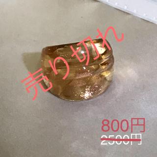 ベネチアンガラス風リング[br9](リング(指輪))