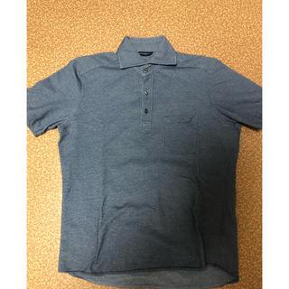 スーツカンパニー(THE SUIT COMPANY)のTHE SUIT COMPANY 半袖ポロシャツ/ネイビー/Mサイズ  (ポロシャツ)