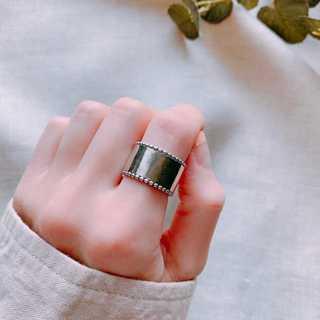 シルバーリング ロングスタッド S925   *ARN046-SR00(リング(指輪))