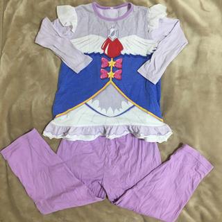 バンダイ(BANDAI)の女の子 サイズ120 魔法使いプリキュア 長袖パジャマ(パジャマ)