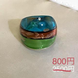 ベネチアンガラス風リング[br15](リング(指輪))