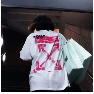 オフホワイト(OFF-WHITE)の OFF WHITE Tシャツ 半袖 メンズ レディース(Tシャツ/カットソー(半袖/袖なし))