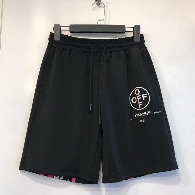 OFF-WHITE(オフホワイト)のOFF WHITE ショートパンツ 夏 メンズ レディース ゴムタイプ メンズのパンツ(ショートパンツ)の商品写真
