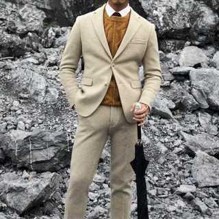 メンズスーツセットアップ大人気エリート定番ビジネス細身スリム紳士服 OT044(セットアップ)