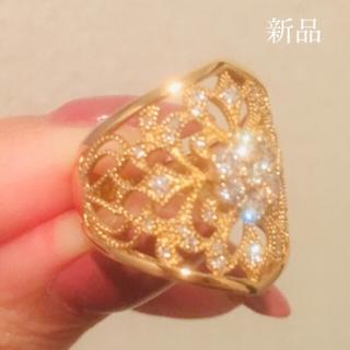 激安!新品 天然ダイヤモンドリング(リング(指輪))