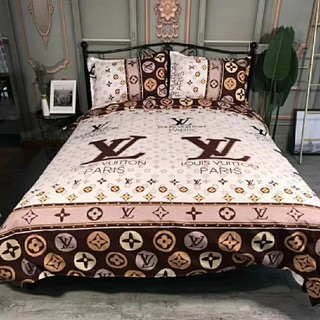 ルイヴィトン(LOUIS VUITTON)のLV ルイヴィトン 送料無料 寝具 4点セット(シーツ/カバー)