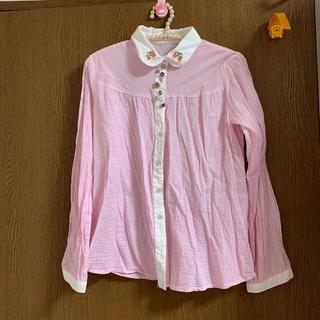チェックシャツ(シャツ/ブラウス(長袖/七分))