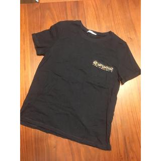 ZARA - Tシャツ 半袖カットソー トップス 黒 ZARA
