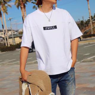 アメリカンイーグル(American Eagle)のサファリ系男子☆LUSSO SURF LAビッグTシャツ L☆ベイフロー(Tシャツ/カットソー(半袖/袖なし))