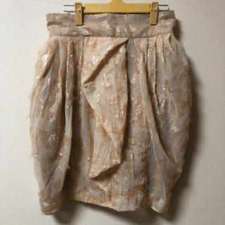 エイチアンドエム(H&M)のH&M キラキラバルーン型スカート(ひざ丈スカート)