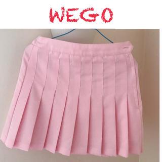 ウィゴー(WEGO)の【WEGO】プリーツスカート ピンク(ミニスカート)