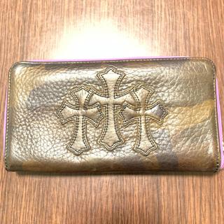 クロムハーツ(Chrome Hearts)のクロムハーツ 財布 ノベルティレザー 美品(長財布)