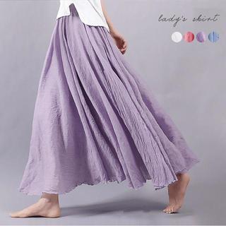 ロングスカート スカート フリルスカート レディース❤(ロングスカート)