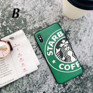 スターバックスコーヒー(Starbucks Coffee)のスマホカバー★iPhoneX/XSケース★★B★★✴️🎁付き❤︎(iPhoneケース)