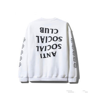 Supreme - 19ss Blacked Out White Long Sleeve Tee