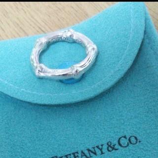 Tiffany & Co. - ティファニーバンブーリングサイズ12