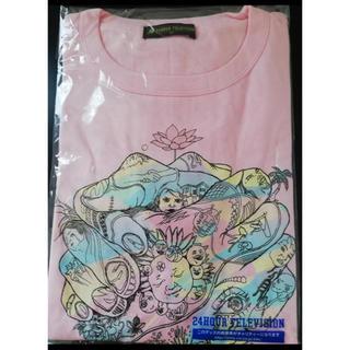 チャリTシャツ ピンク Mサイズ新品未開封(Tシャツ(半袖/袖なし))