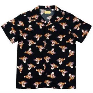 ディズニー(Disney)のディズニーリゾート ティガー アロハシャツ ・ ティガー アロハシャツ ・ M(シャツ/ブラウス(半袖/袖なし))