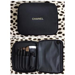 シャネル(CHANEL)のシャネル ブラシセット 鏡付きポーチ(コフレ/メイクアップセット)