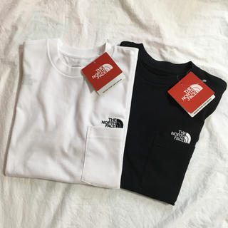THE NORTH FACE - ノースフェイス  ポケットロゴtシャツ  2枚セット 白黒