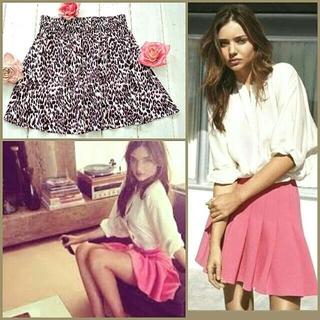 エイチアンドエム(H&M)の新品 H&M スカートあまりにキュート涼しいもてスカート ミランダ・カーみたいに(ひざ丈スカート)