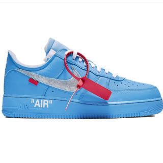 ナイキ(NIKE)のnike air force1 mca off white (スニーカー)