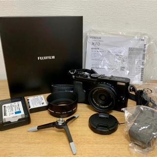 富士フイルム - Fujifilm X70