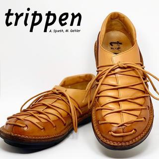 trippen - 希少【trippen・トリッペン】sparta ライトブラウン 25.5〜26