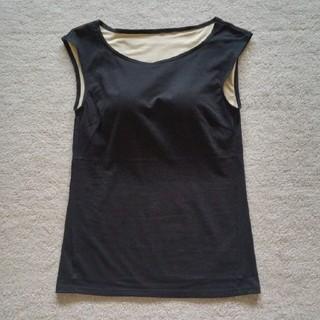 DHC - ☆【未使用】DHC*涼感肌・カップ付きフレンチTシャツ/ブラトップ
